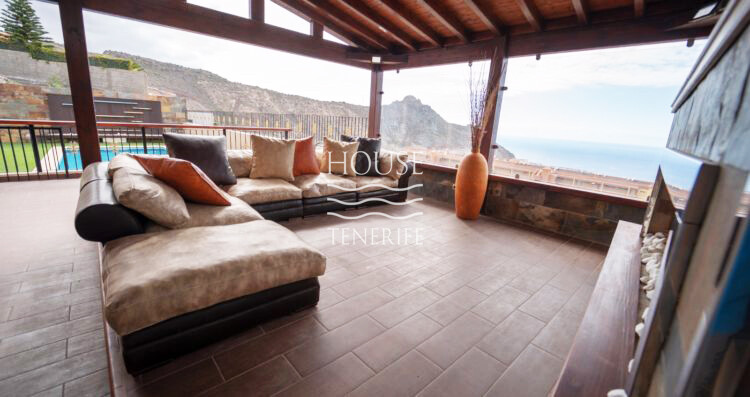 villa for sale in Roque del Conde, Tenerife.