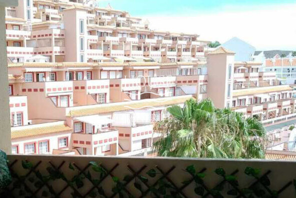 property on the south coast of Tenerife.
